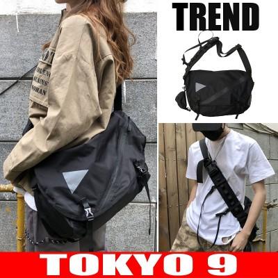 ショルダーバッグ バッグ ユニセックス メンズ レディース スポーツバッグ バッグ シンプル カジュアル ロゴ 登山 TOKYO9
