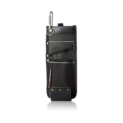[ワーカーズレーベル] ポーチ ベルトクリップ式カッター差しL CUL-2 ブラック ブラック