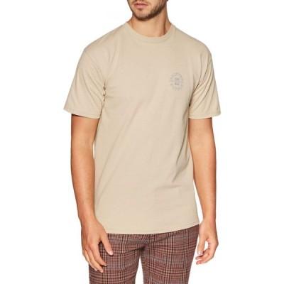ブリクストン Brixton メンズ Tシャツ トップス oath v standard short sleeve t-shirt Vanilla