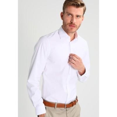 カルバン クライン テイラード シャツ メンズ トップス Shirt - white