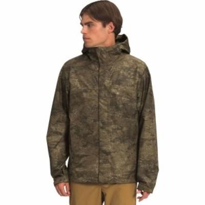 ザ ノースフェイス The North Face メンズ レインコート フード レインジャケット アウター Venture 2 Hooded Jacket Military Olive Clo