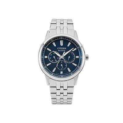 Citizen Multi-Function Blue Dial Stainless Steel Men's Watch BU2071-87L【並行輸入品】