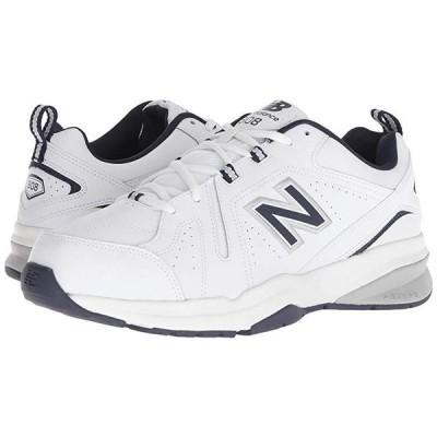 ニューバランス 608v5 メンズ スニーカー 靴 シューズ White/Navy