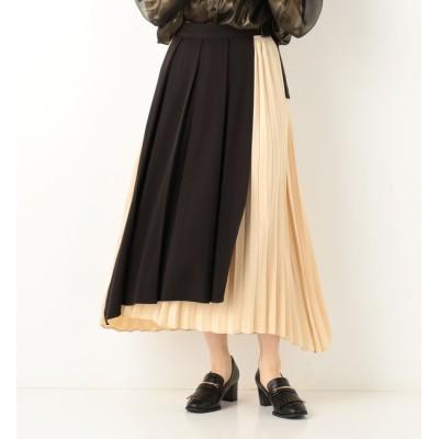 【アルシーヴ/archives】 プリーツアソートラップ風スカート