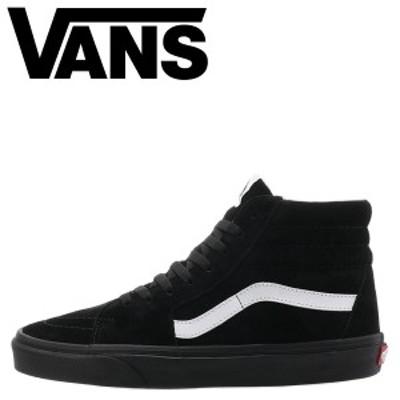 VANS ヴァンズ SK8-HI スニーカー メンズ バンズ スケートハイ スケハイ ブラック 黒 VN0A4BV618L
