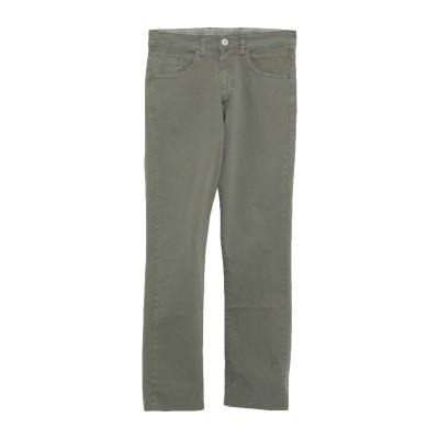 LIU •JO MAN パンツ ミリタリーグリーン 42 コットン 98% / ポリウレタン 2% パンツ