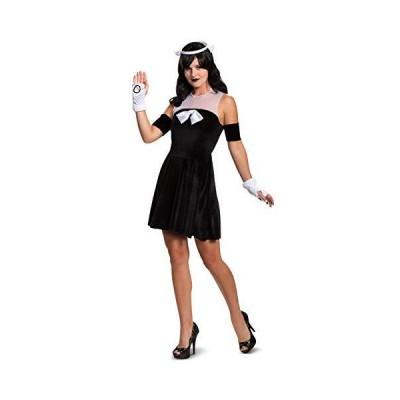 海外取寄品--Disguise Women's Alice Angel Classic Adult Costume, Black, S (4-6)