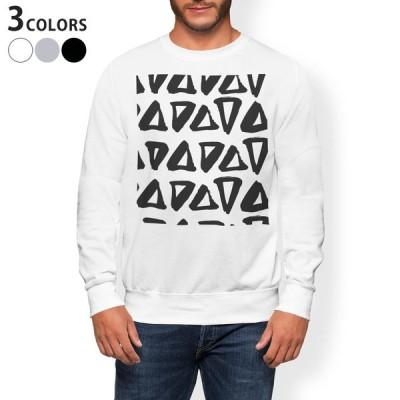 トレーナー メンズ 長袖 ホワイト グレー ブラック XS S M L XL 2XL sweatshirt trainer 裏起毛 スウェット  050838
