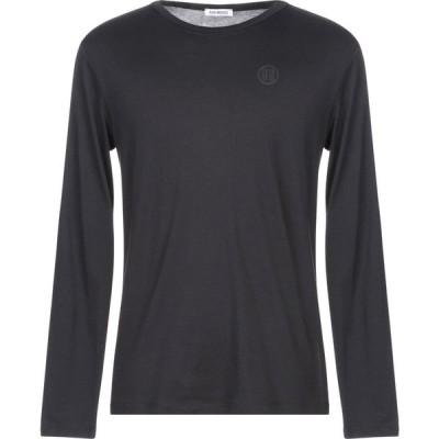 ビッケンバーグ BIKKEMBERGS メンズ Tシャツ トップス t-shirt Black