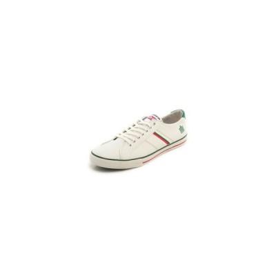 スニーカー Admiral アドミラルWATFORD SJAD0705-010406 ワトフォード ホワイト/レッド/グリーン レディース メンズ シューズ 靴 お取り寄せ商品