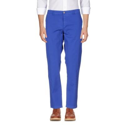 メゾン クロシャード MAISON CLOCHARD パンツ ブライトブルー 38 コットン 98% / ポリウレタン 2% パンツ
