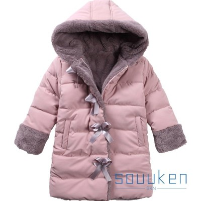 女の子 ダウンジャケット ダウンコート 秋冬 防寒 防風 保温 厚め 子どもジャケット フード付き アウター ゆったり おしゃれ 通学