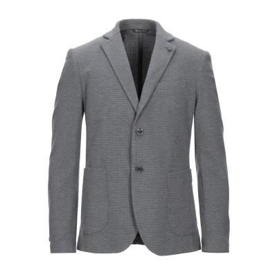 EXTE テーラードジャケット グレー 46 ポリエステル 70% / レーヨン 28% / ポリウレタン 2% テーラードジャケット