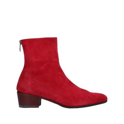 I.N.K. Shoes ショートブーツ レッド 37 革 ショートブーツ