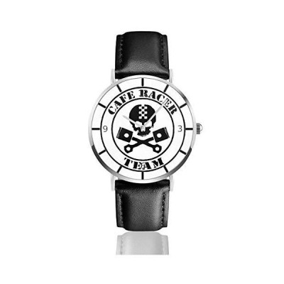 腕時計 カフェベーパー 英字 ウオッチ クラシック カジュアル 防水 クォーツムーブメント レザー ベルトビジ?