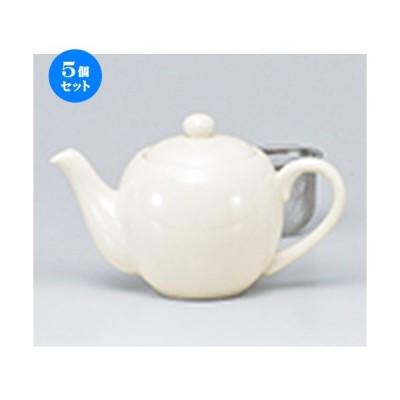 5個セット 洋小物 NBコーヒーポットカゴ付 [ 390cc ] 【 レストラン ホテル カフェ 洋食器 飲食店 業務用 】
