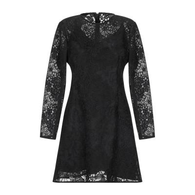 RUBENDELLARICCIA ミニワンピース&ドレス ブラック 44 ポリエステル 100% ミニワンピース&ドレス