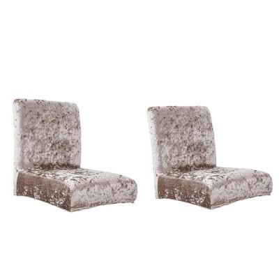 2スパンデックス低背もたれ椅子シートカバー結婚式の宴会ホテルの装飾のセット