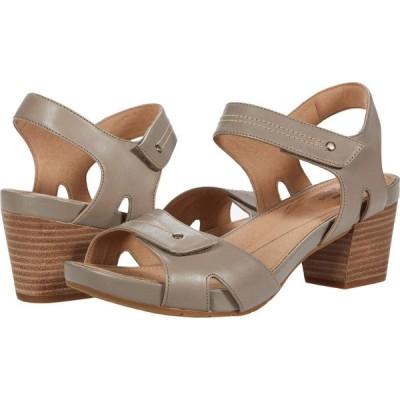 クラークス Clarks レディース サンダル・ミュール シューズ・靴 Un Palma Vibe Taupe Leather