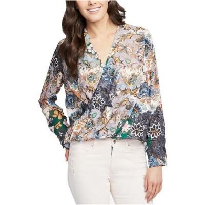 レディース 衣類 トップス Rachel Rachel Roy Womens Wonderlust Floral Long Sleeve Blouse ブラウス&シャツ