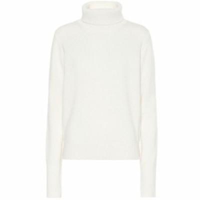 ジョゼフ Joseph レディース ニット・セーター トップス Roll-neck cashmere sweater Cream