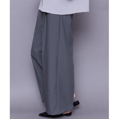 mili an deni / ツイルワイドパンツ WOMEN パンツ > パンツ