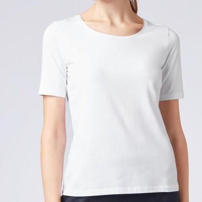ボス レディース ファッション EMMSI - Basic T-shirt - white
