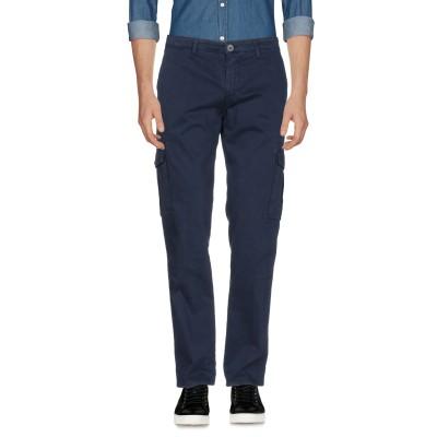 LIU •JO MAN パンツ ダークブルー 30 97% コットン 3% ポリウレタン パンツ