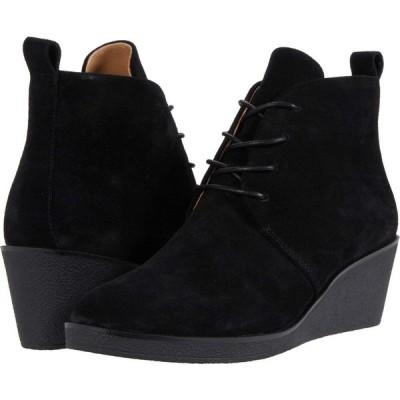 エアロソールズ Aerosoles レディース ブーツ シューズ・靴 Brooke Black Suede