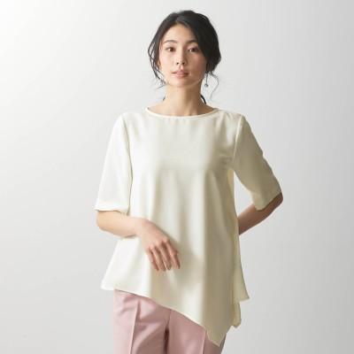 アシンメトリーヘムブラウス【TOKYO REAL CLOTHESコラボ】
