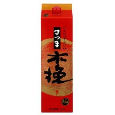 雲海酒造 さつま木挽 パック 25度 1800ml 芋焼酎