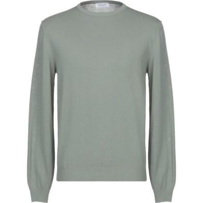 ヘリテイジ HERITAGE メンズ ニット・セーター トップス sweater Light green