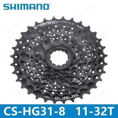 自転車パーツ シマノ CS-HG31-8 マウンテンバイク MTB カセットフライホイール 11-30/32 t ALIVIO DEORE 自転車部品 8 s/ 24 s フライホイール GS HG31