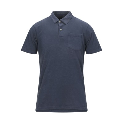 IMPURE ポロシャツ ダークブルー L コットン 100% ポロシャツ