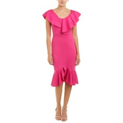 イシュー レディース ワンピース トップス issue New York Sheath Dress hot pink