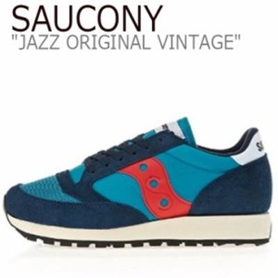サッカニー ジャズオリジナル スニーカー SAUCONY JAZZ ORIGINAL VINTAGE ジャズ オリジナル ヴィンテージ ネイビー S70321-5 シューズ