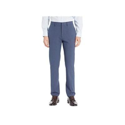 ケネスコール Solid Gab Four-Way Stretch Slim Fit Dress Pants メンズ パンツ ズボン Blue Heather