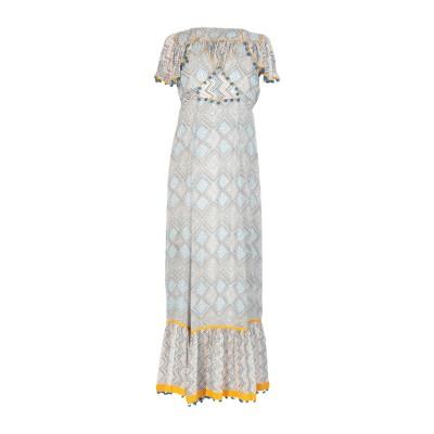 タリサ TALITHA ロングワンピース&ドレス ホワイト XS シルク 100% ロングワンピース&ドレス