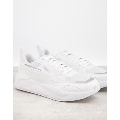 プーマ Puma メンズ スニーカー シューズ・靴 X-Ray 2 Square Trainers In White ホワイト
