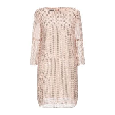 BIANCOGHIACCIO ミニワンピース&ドレス ライトピンク 40 ポリエステル 100% ミニワンピース&ドレス