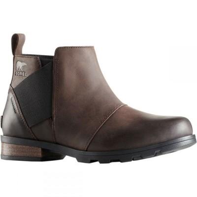 ソレル SOREL レディース ブーツ チェルシーブーツ シューズ・靴 emelie chelsea waterproof boots CATTAIL