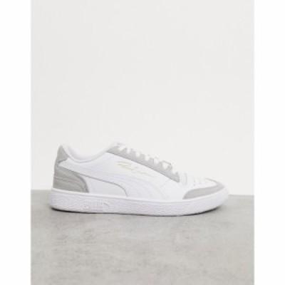 プーマ Puma メンズ スニーカー シューズ・靴 Ralph Sampson Lo Vintage Trainers In White ホワイト
