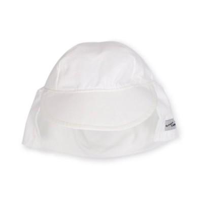 Flap Happy Little Boys'  Upf 50 Plus Organic Flap Hat, Natural, Large【並行輸入品】