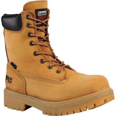 ティンバーランド メンズ ブーツ・レインブーツ シューズ Timberland PRO Men's Direct Attach 8'' Waterproof 400g Work Boots