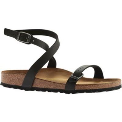 ビルケンシュトック レディース サンダル シューズ Daloa Ankle Strap Sandal Black Birko-Flor