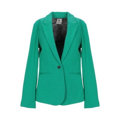 GARCIA テーラードジャケット グリーン M コットン 56% / ポリエステル 44% テーラードジャケット