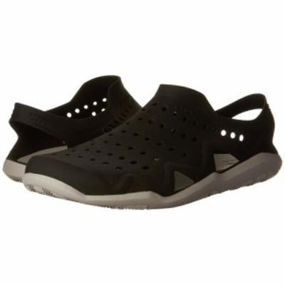クロックス Crocs メンズ スニーカー シューズ・靴 Swiftwater Wave Black/Pearl White