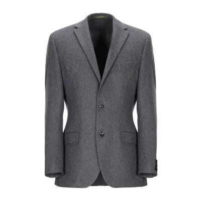 STONES テーラードジャケット グレー 48 バージンウール 65% / ポリエステル 30% / カシミヤ 5% テーラードジャケット