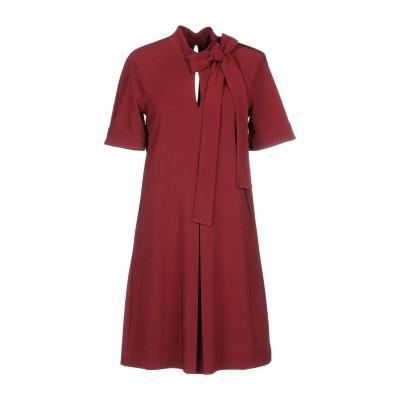 マニラ グレース MANILA GRACE ミニワンピース&ドレス ガーネット 38 90% ポリエステル 10% ポリウレタン ミニワンピース&ド