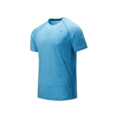 ニューバランス Tenacity Short Sleeve Tee メンズ シャツ トップス Vision Blue